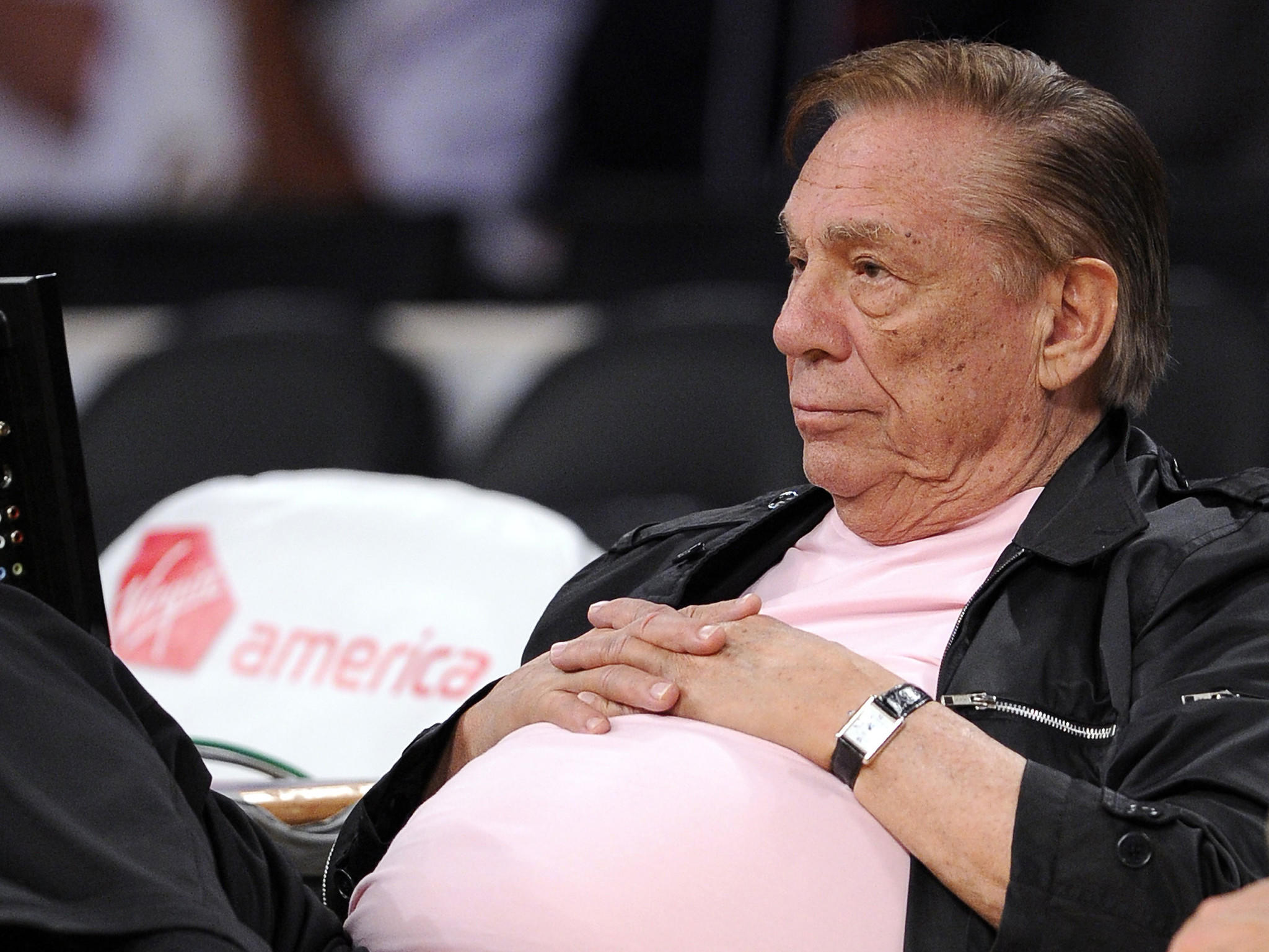 Man with the luxury to say no to anyone: Donald Sterling.