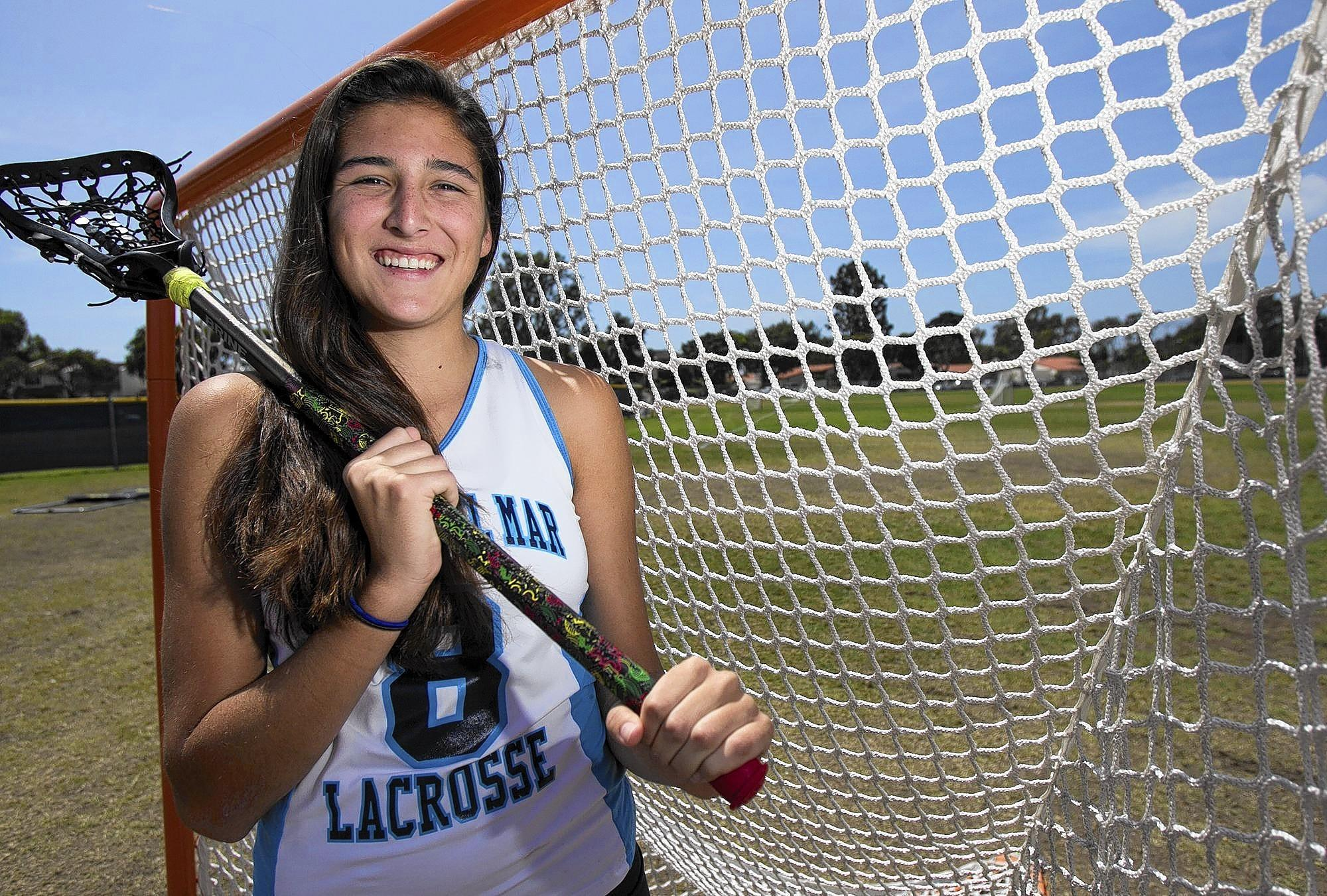 Sabrina Smith of Corona del Mar High girls' lacrosse is the Daily Pilot High School Athlete of the Week.