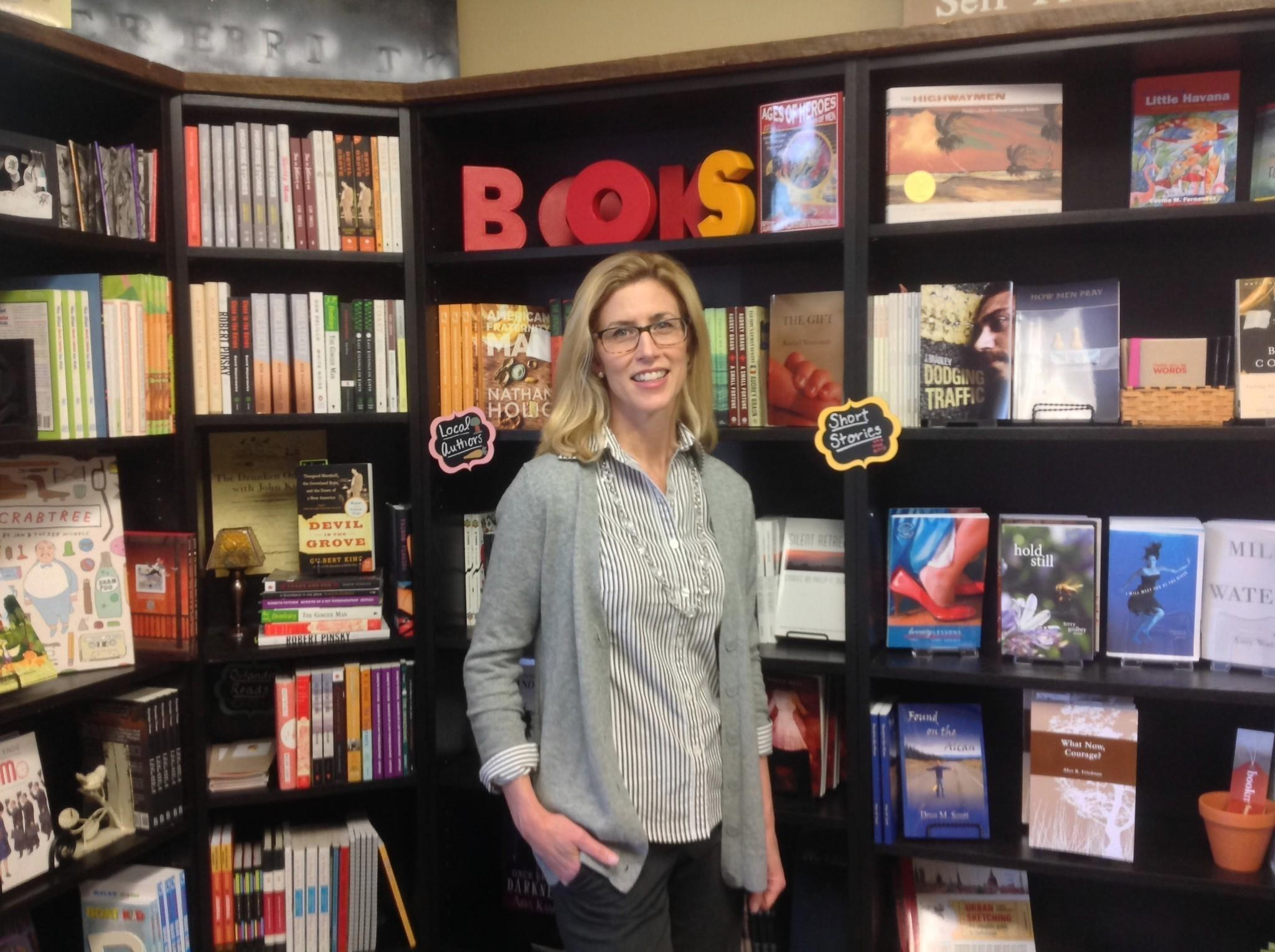 Bookmark It owner Kim Britt banks on Orlando's literary scene.