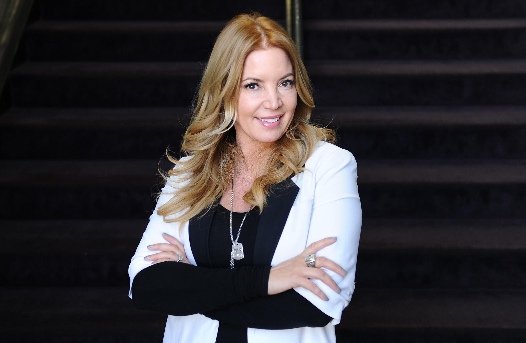 Jeanie Buss, co-owner and president of the Lakers, lived at Pickfair in the 1980s.