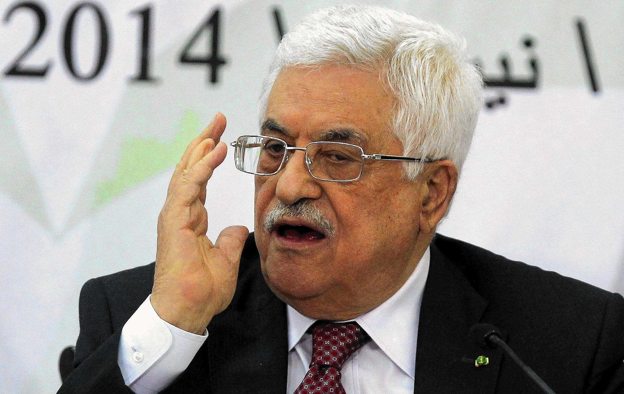 Palestinian Authority President Mahmoud Abbas expressed sympathy for the families who died at the hands of the Nazis.