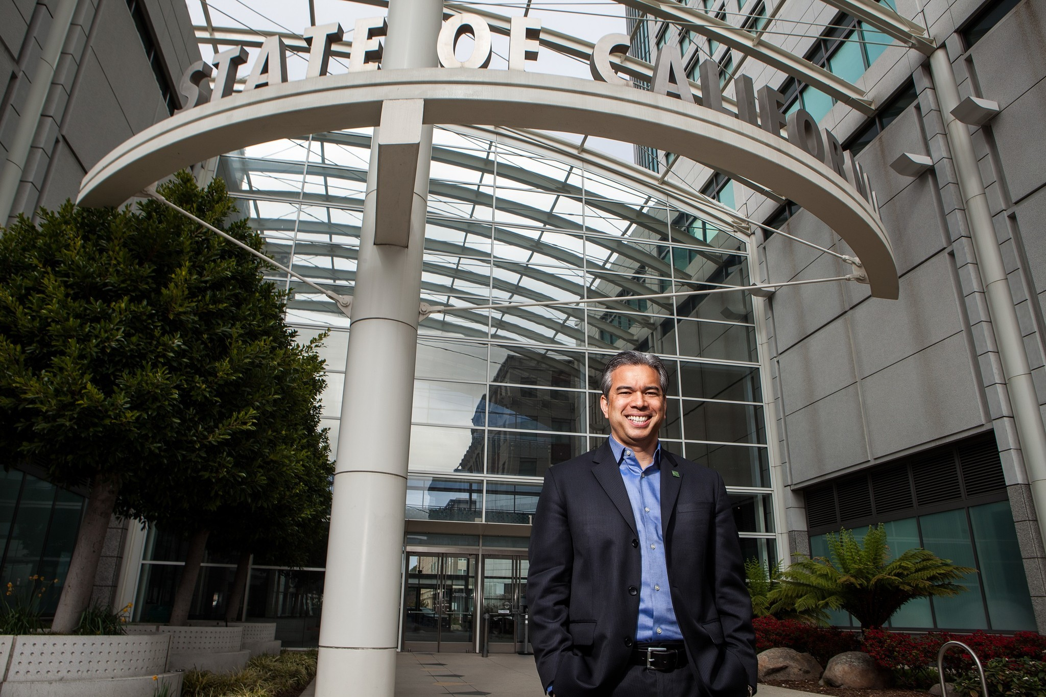 Assemblyman Rob Bonta (D-Alameda) has proposed a way to expedite the clearing of records of marijuana convictions. (Alexis Cuarezma / For The Times)