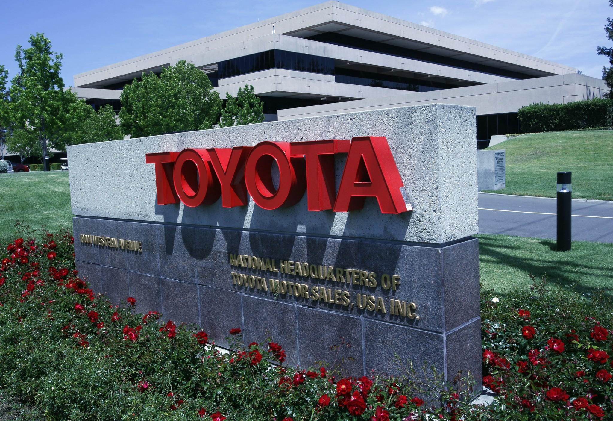 About 5,300 people work at Toyota's North American sales and marketing headquarters in Torrance.