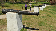 Patterson Park cannons dated to 17th, 18th centuries