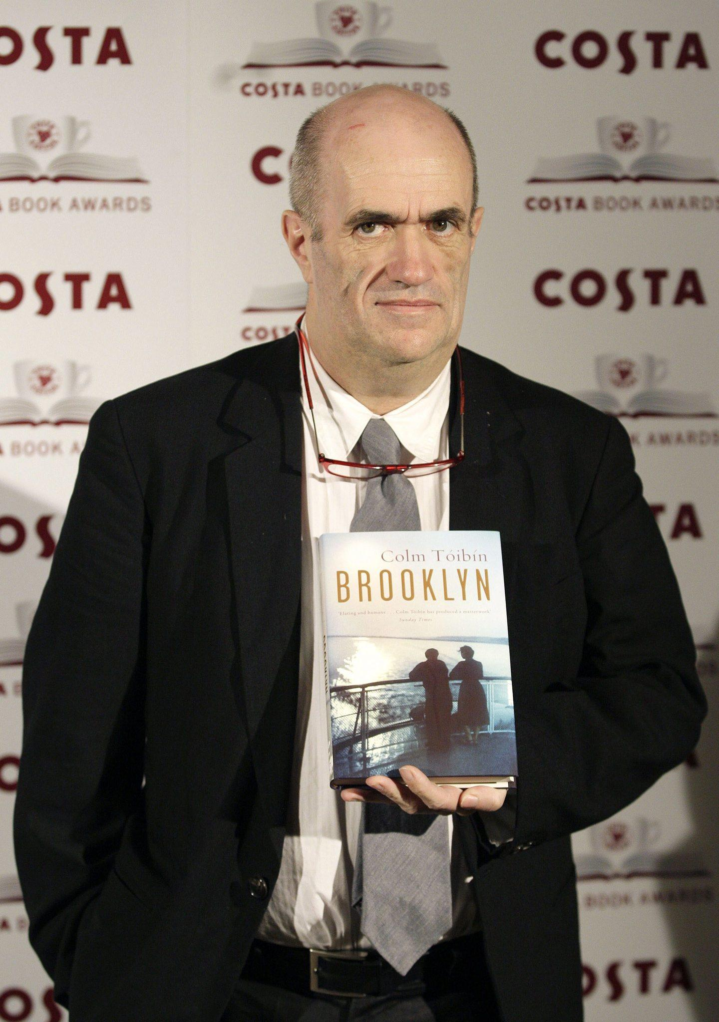 Irish author Colm Toibin poses during a shortlisted authors photocall for the 2009 Costa Book Award Winners, in central London.
