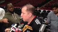 Video: Thibodeau on giving fans 'something to cheer about'