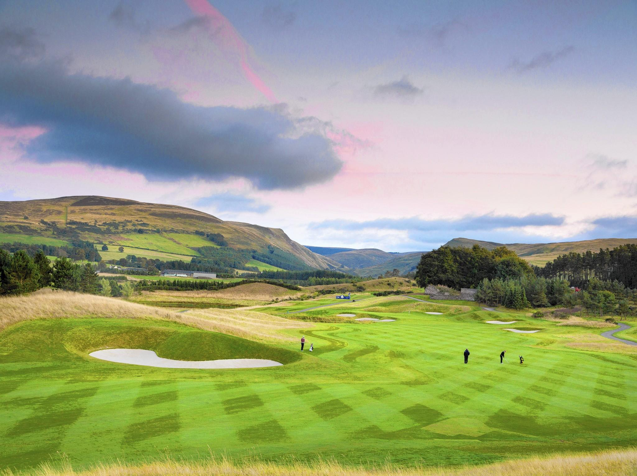 The PGA Centenary Course at Gleneagles, Perthshire.