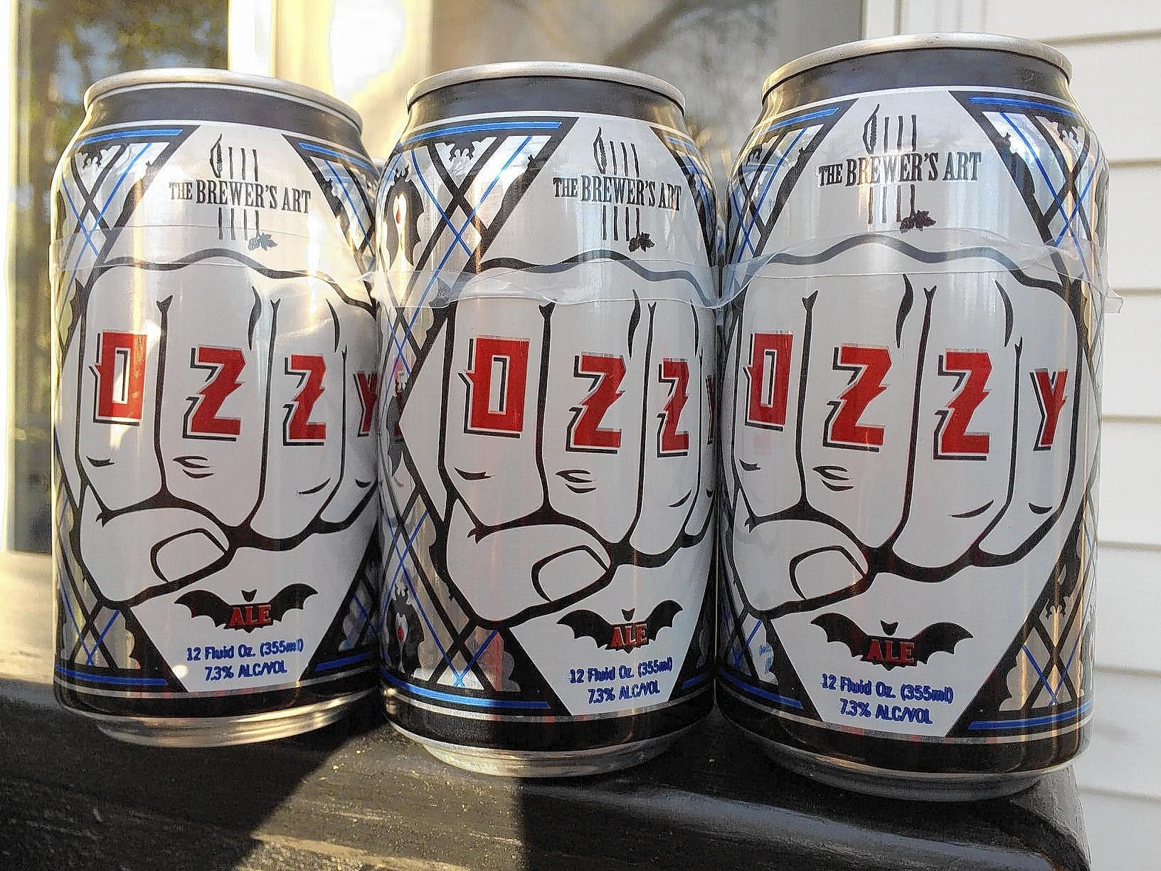 Ozzy, the Belgian-style strong pale ale that was made by the Baltimore-based company The Brewer's Art.