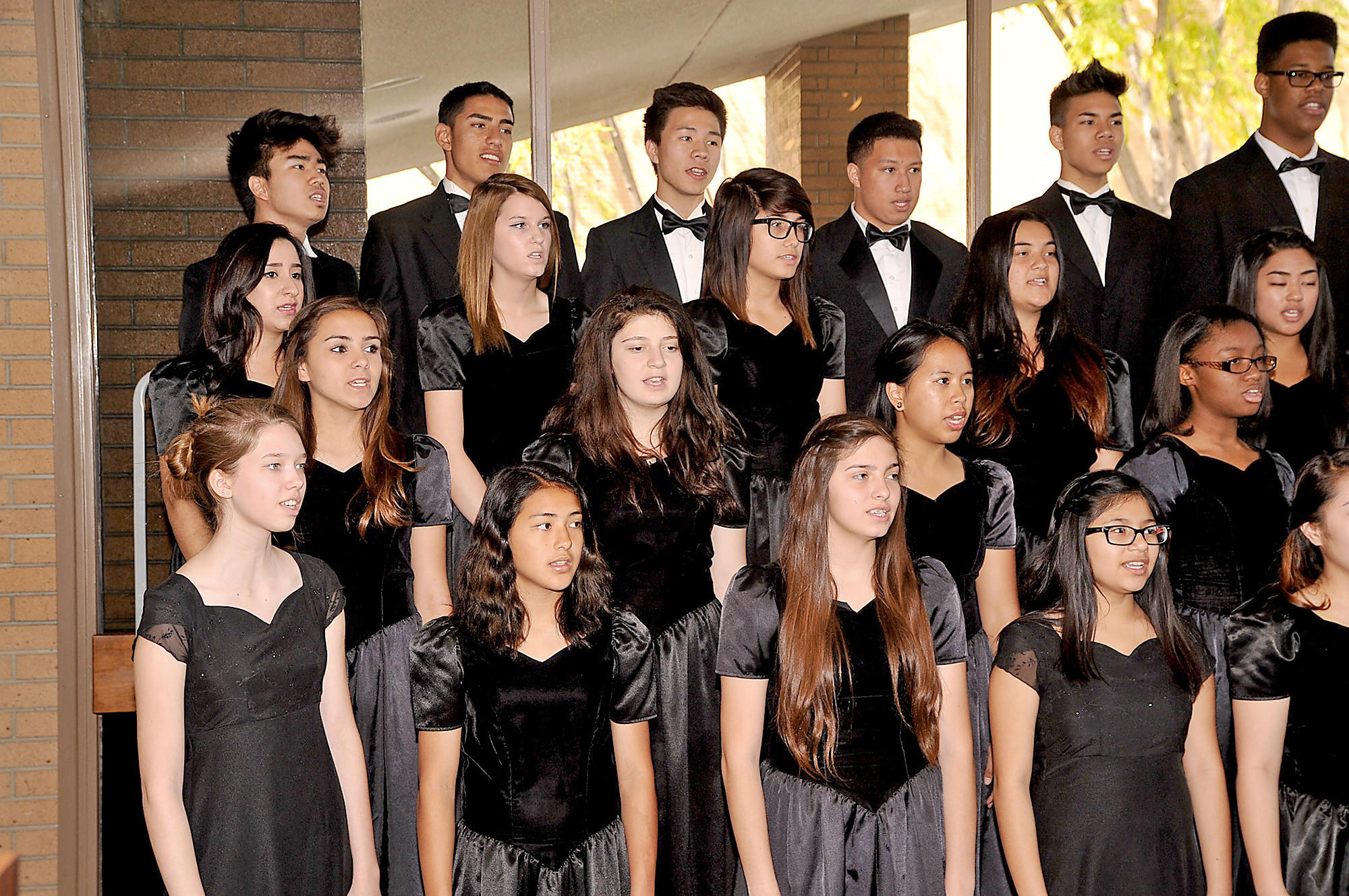 Glendale High School's a cappella choir will be among the 28 Southland high school choirs performing in the Los Angeles Master Chorale's 25th annual High School Choir Festival on Friday, May 2, at the Walt Disney Concert Hall.