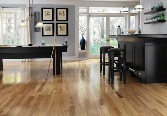 Wood flooring trends baltimore sun for Bellawood natural ash