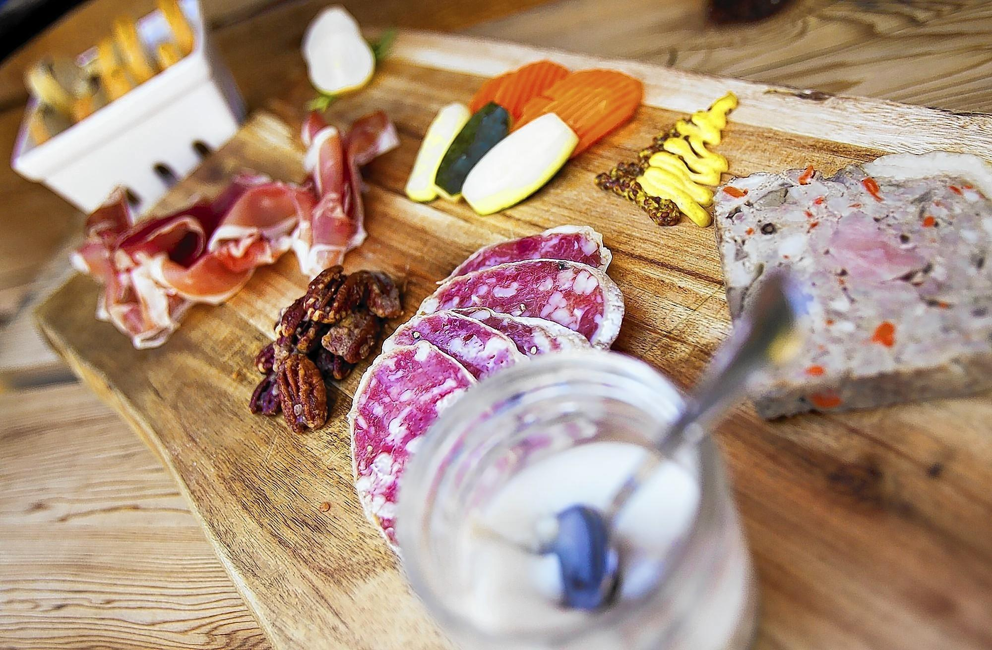 The charcuterie platter from Provenance in Newport Beach.