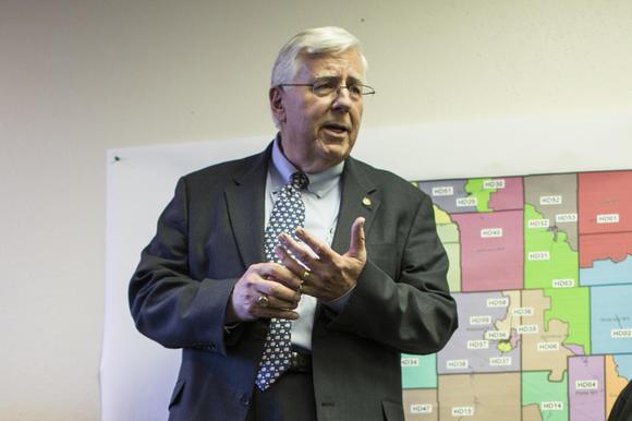 Wyoming Republican Sen. Mike Enzi