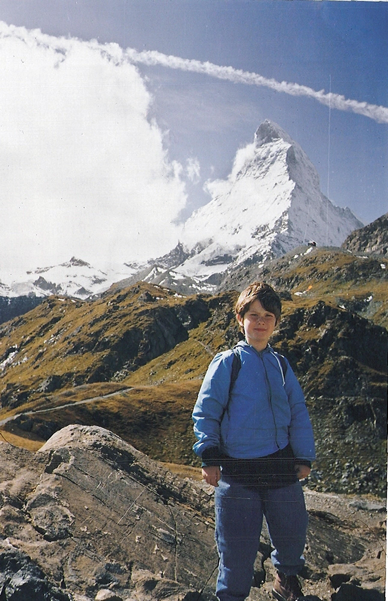 Nicholas Green, 7, on his family's visit to Switzerland a few days before he was killed while the Greens drove through Italy.