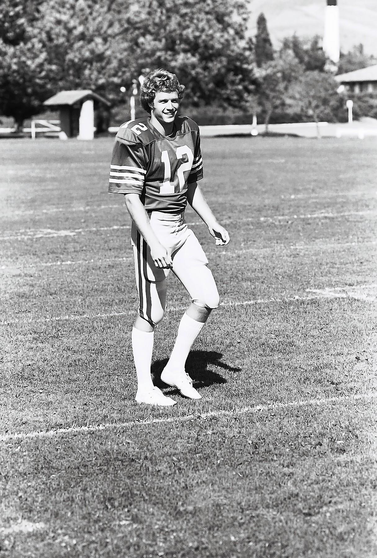 Joe Roth was a star quarterback for Cal. His life was cut short because of melanoma.