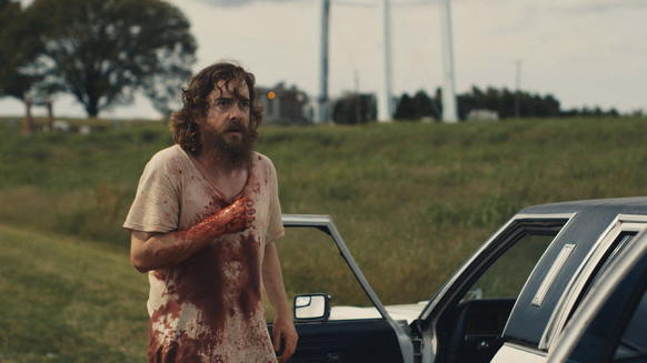 "<i> *** (out of four)</i><br> <b>What we said:</b> ""The pleasure of 'Blue Ruin' is letting its urgency coil around your heart, daring it to move. The atmosphere is immediate and unflinching."" <i>-- Matt Pais </i><br><br><a target=""_blank"" href=""http://www.redeyechicago.com/entertainment/movies/redeye-blue-ruin-is-tense-urgent-and-deadly-20140428,0,3570766.column""<b>Click here for our full review</a>"