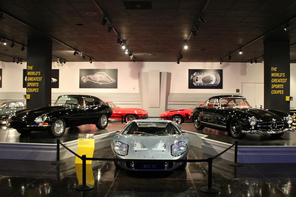 World's greatest sports coupes at the Petersen