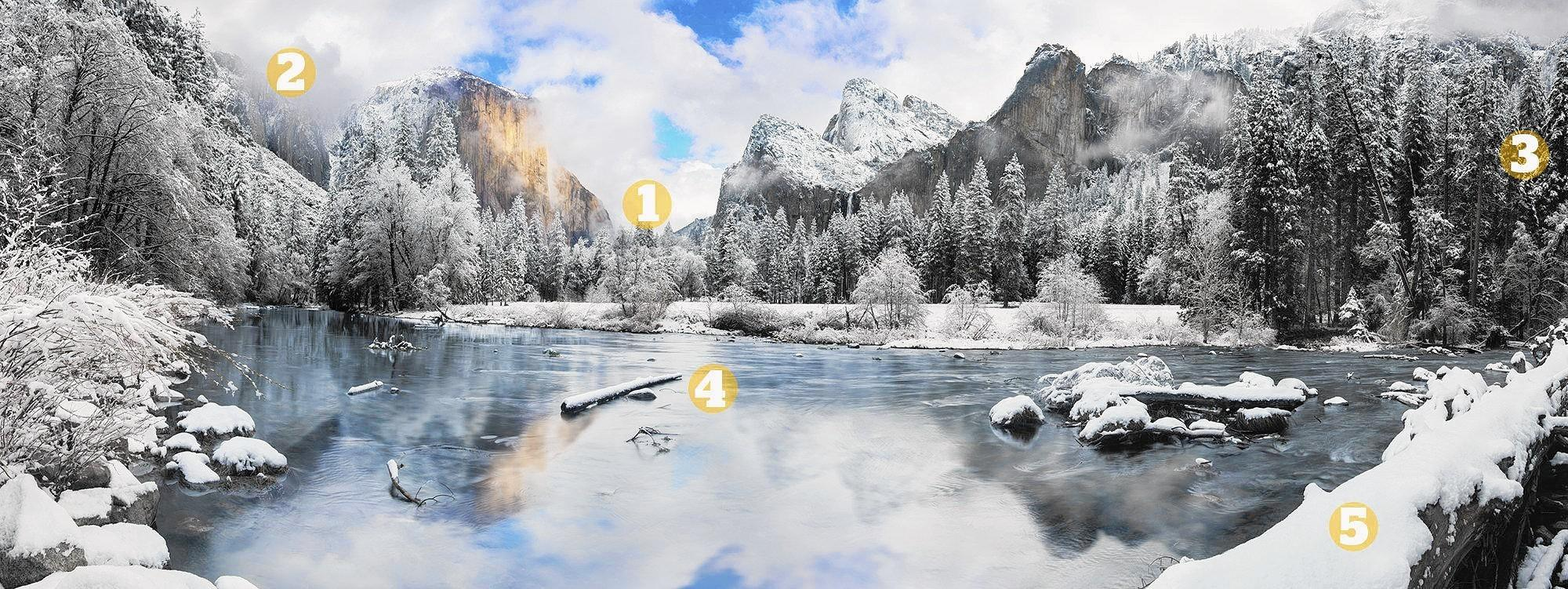 """Forest & Ocean Gallery unveils Cheyne Walls' newest fine art photograph, """"Gates of the Valley,"""" captured in the valley of Yosemite National Park. The event is from 6 to 9 p.m. Saturday."""