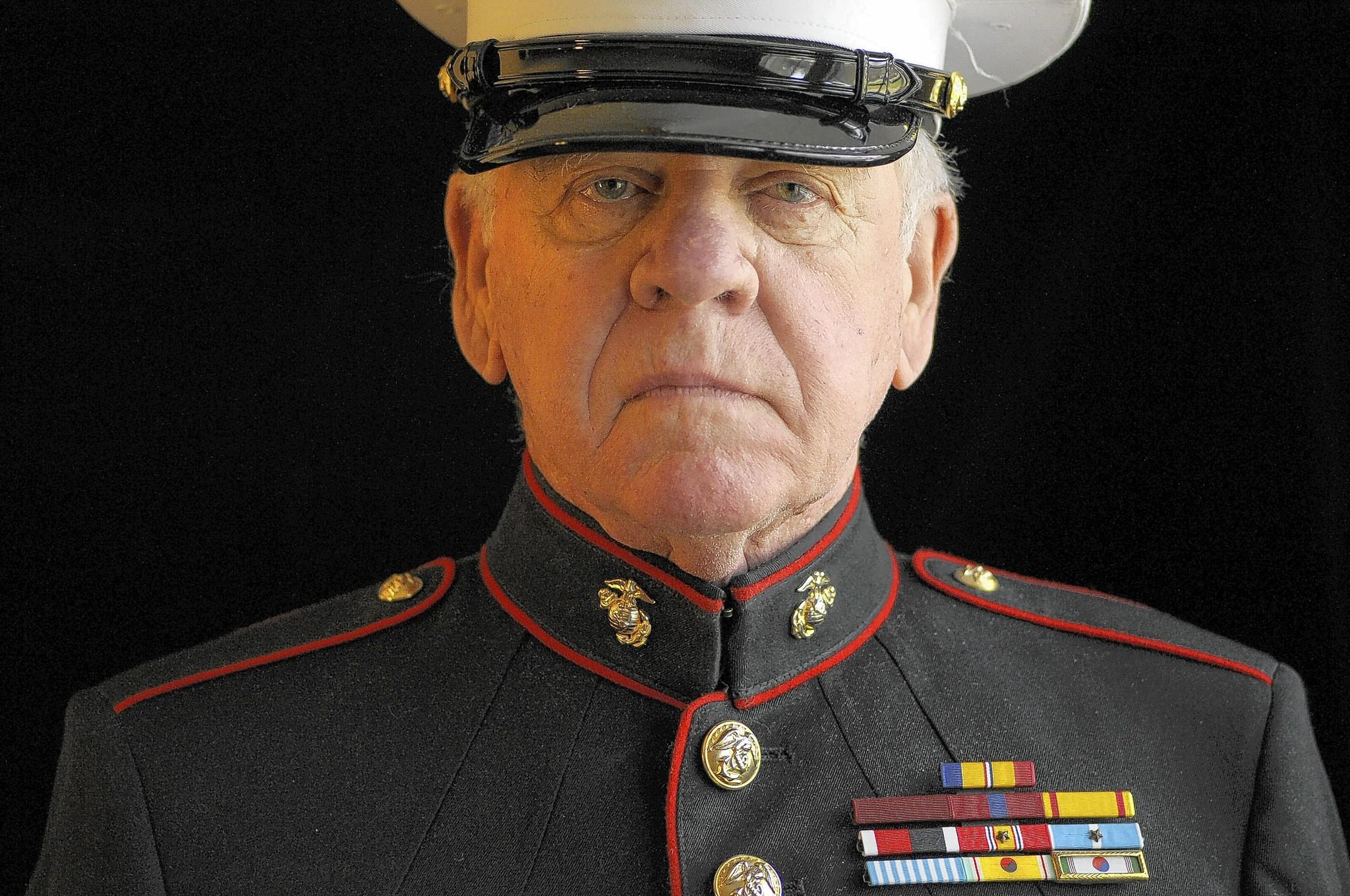 Robert Kalechman, 81, served as a Marine Corps sergeant during the Korean War. Kalechman has also served on the board of trustees for the state's Department of Veteran Affairs and he currently hosts a program on Simsbury cable television about the Marines.
