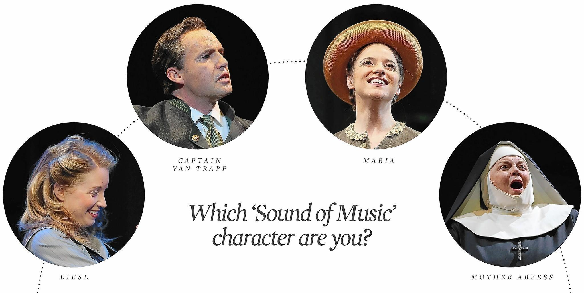 """Which 'Sound of Music' character are you?"" quiz created by the Lyric Opera of Chicago."