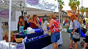 Palm Springs parties in the street at VillageFest