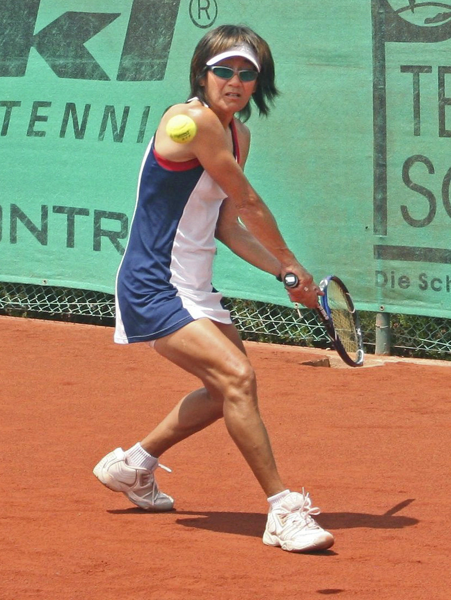 Tina Karwasky, Glendale resident and member of the United States tennis team, helped the team win the Maureen Connolly Cup.