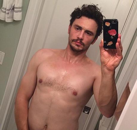 ... shares a lot of James Franco in near-nude Instagram post - LA Times: www.latimes.com/entertainment/gossip/la-et-mg-james-franco...