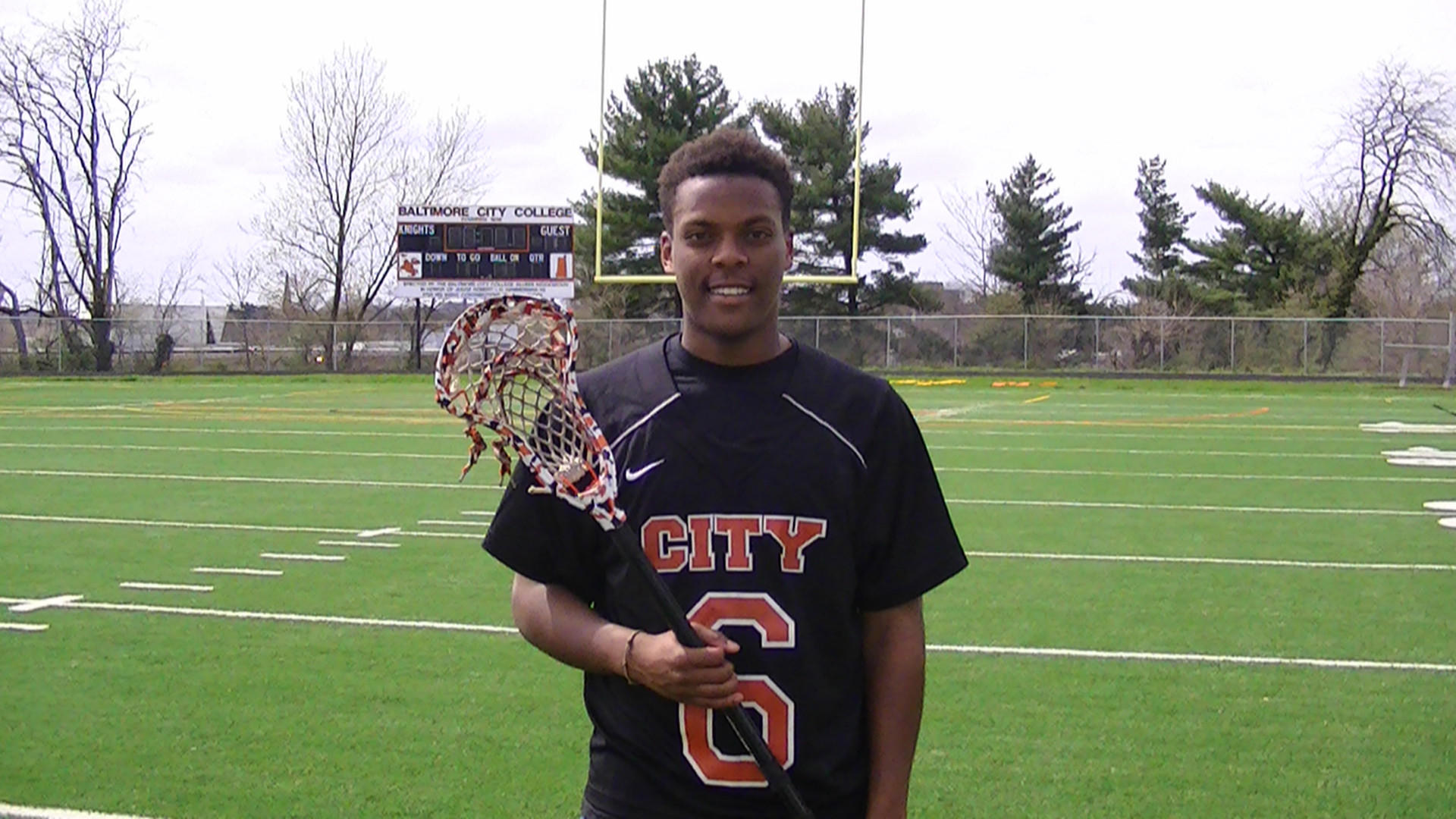 City lacrosse attackman Tracy Smith.