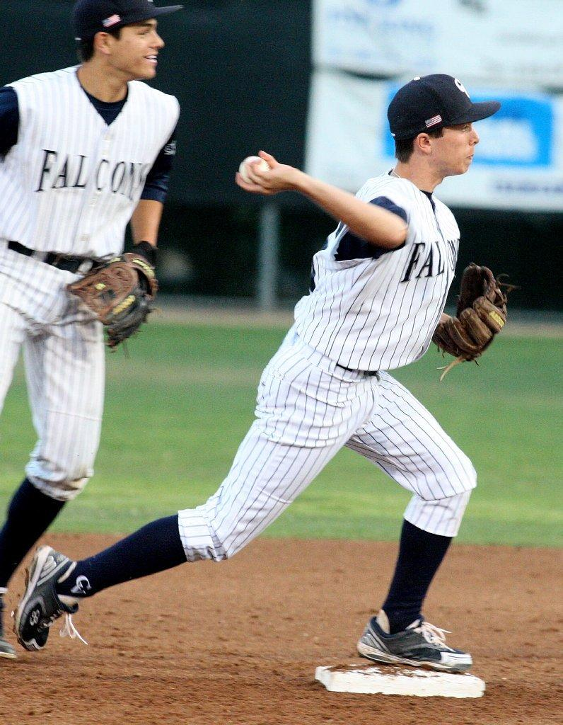 Ryan Lynch and the Crescenta Valley baseball team defeated Glendale, 11-0.