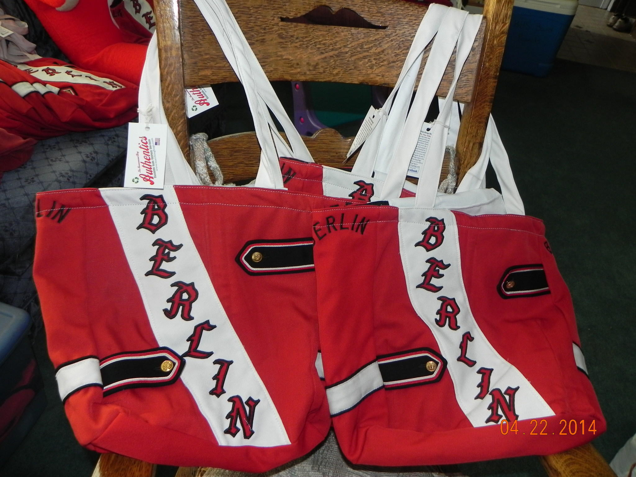 "The New ""Redcoat Totes""."