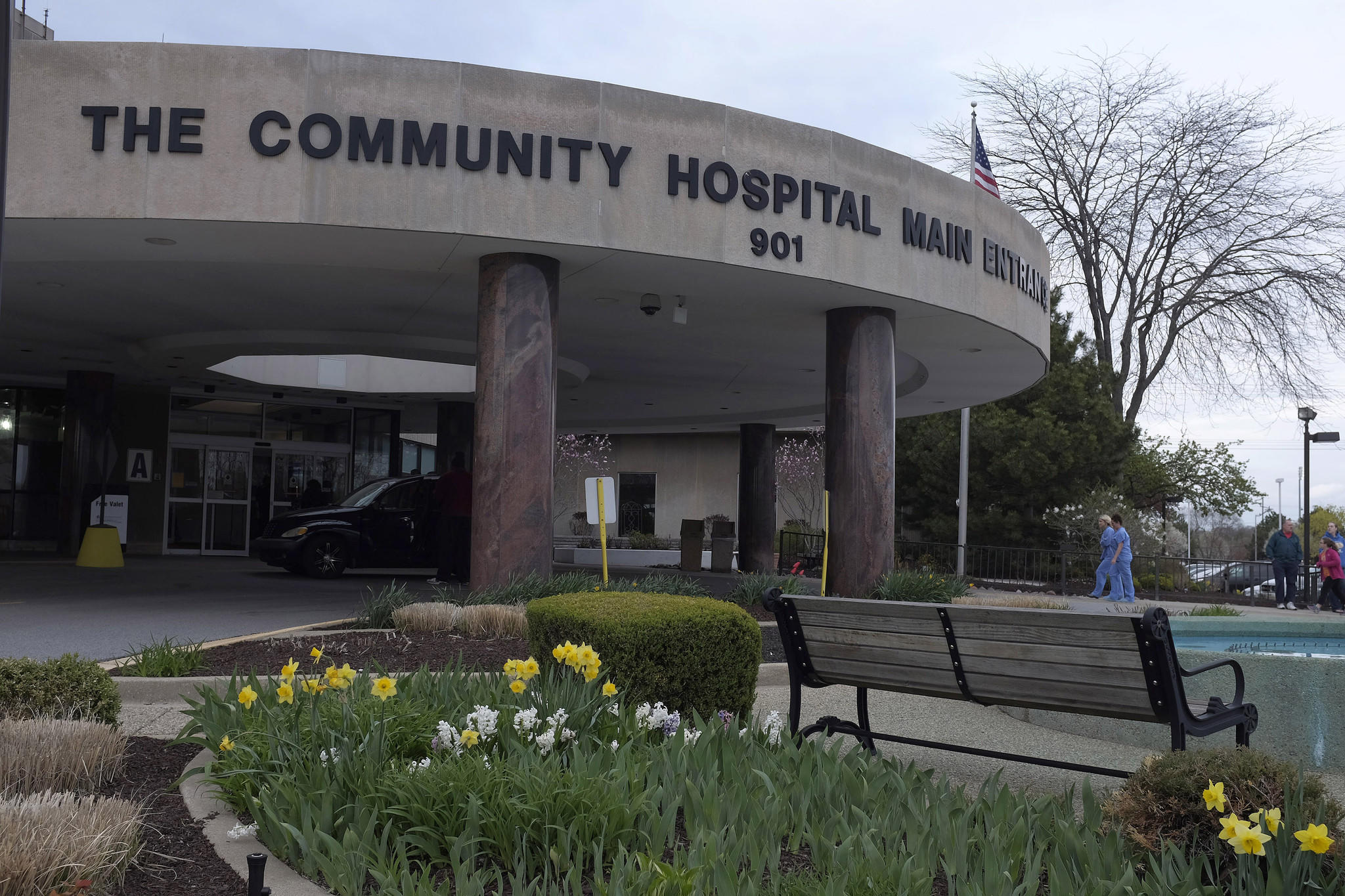 The Community Hospital in Munster, Indiana, where a patient with the first U.S. case of MERS, a respiratory virus that has caused deadly outbreaks in the Middle East, is hospitalized.