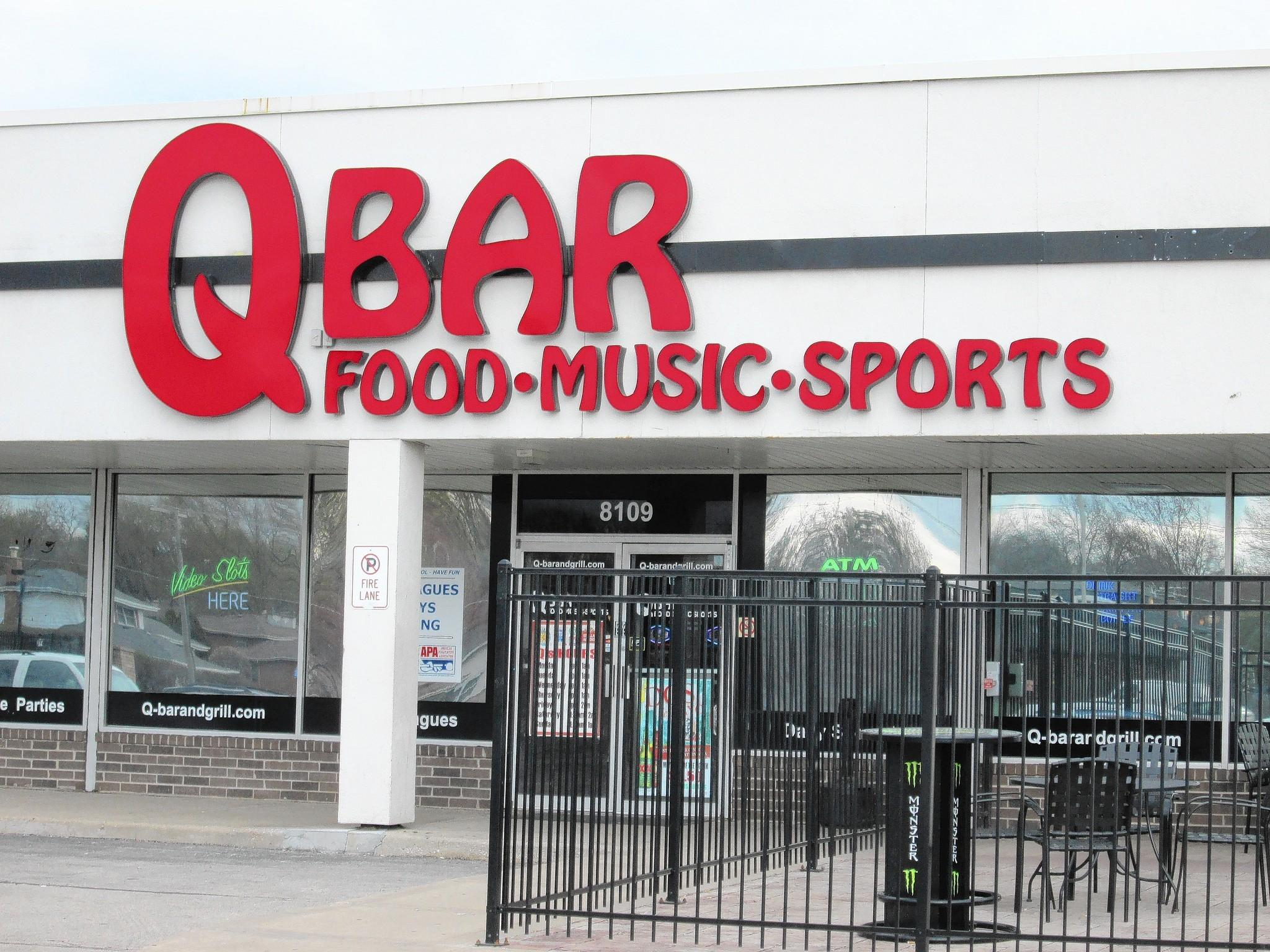 The QBar establishment in the nearby suburb of Darien offers video gambling.