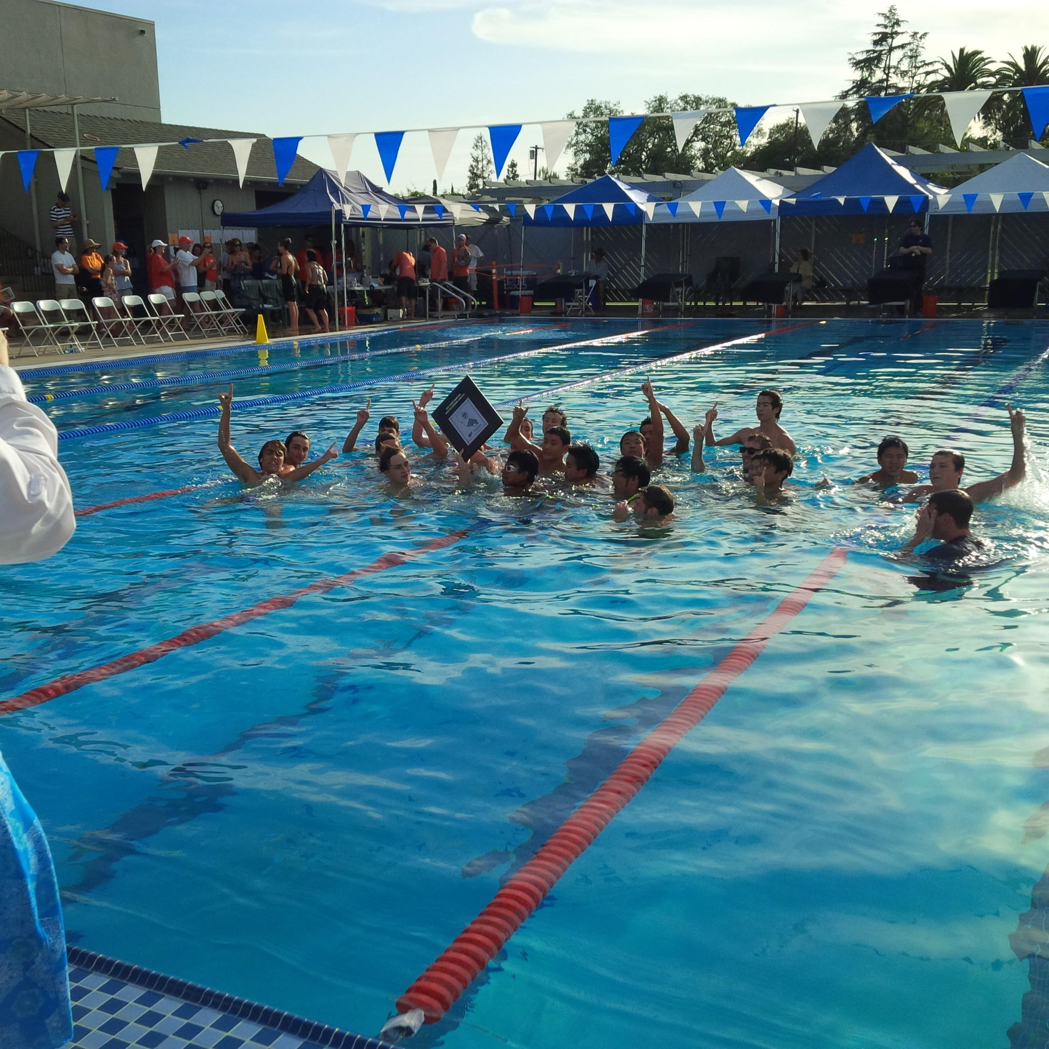 Flintridge Prep's boys' swimming team won its second straight Prep League title on Saturday.
