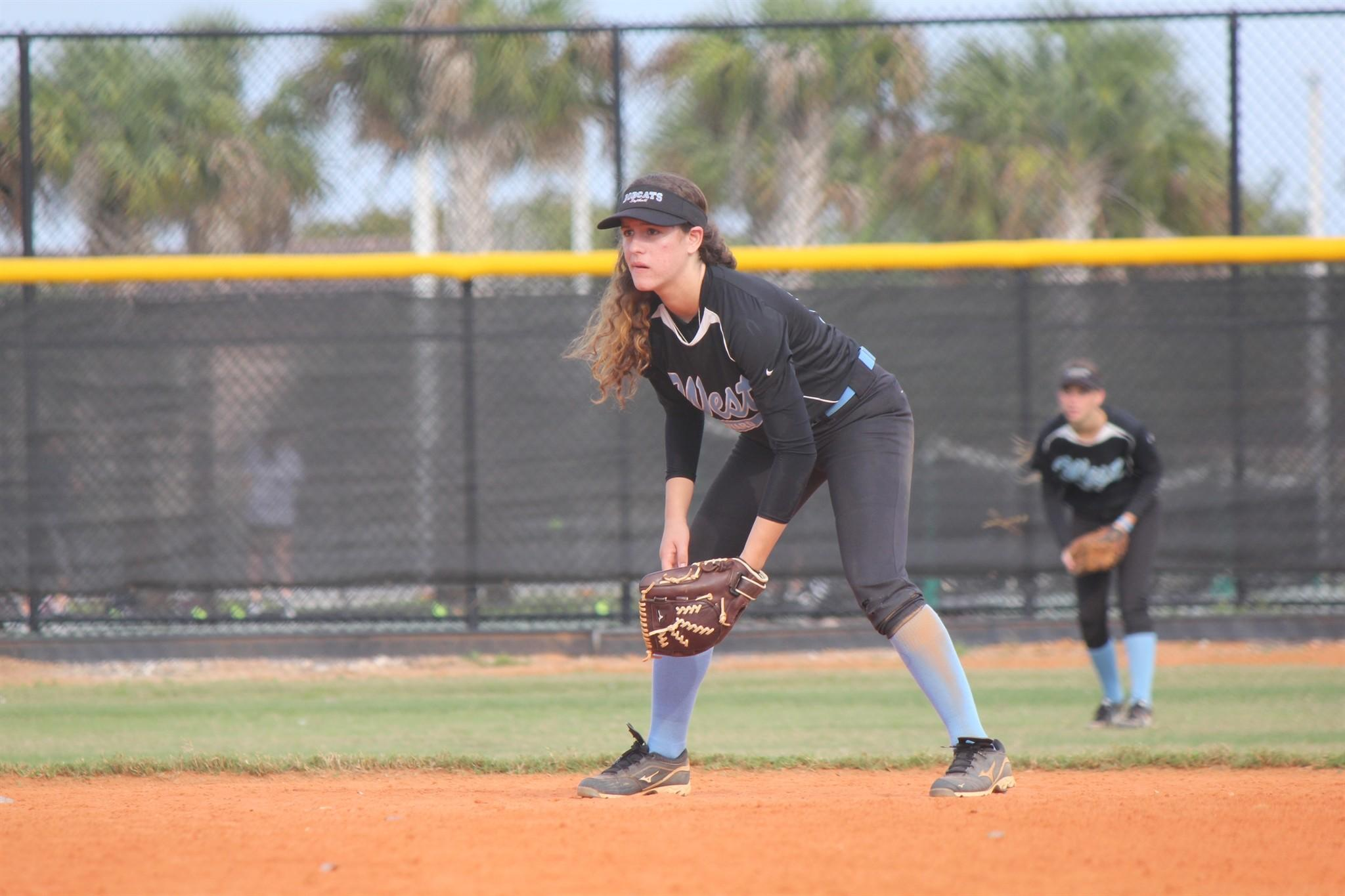 West Broward junior Megan Obier has committed to play softball at 23rd-ranked USC-Upstate. (Handout)