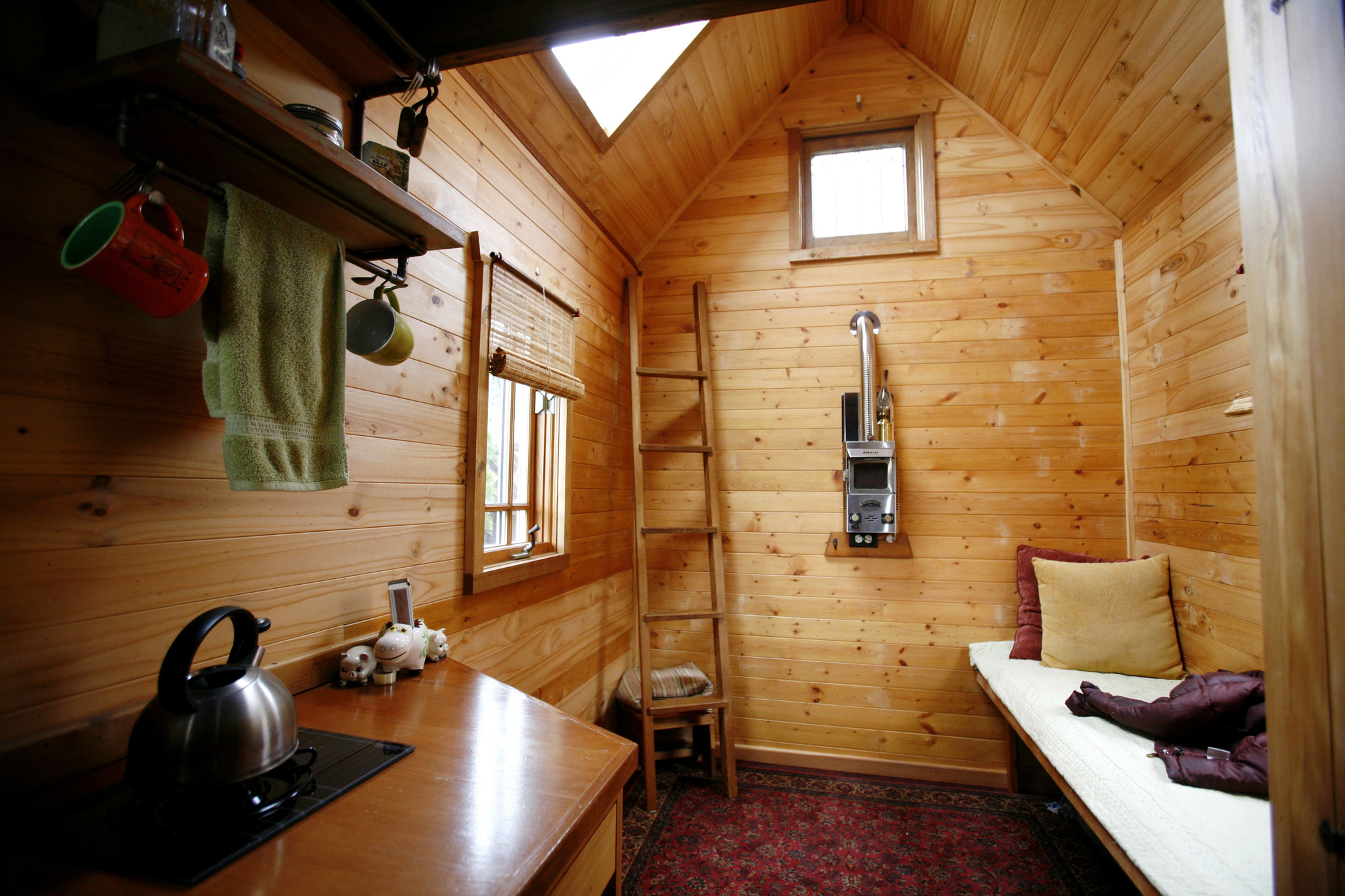 Dee Williams Downsizes To A Tiny House Opens A Bigger