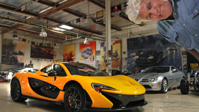 Passion And Love Drive Jay Leno To Fill A Car Garage La Times