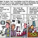 Gift ideas for California politicians