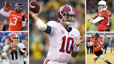 In a deep draft for quarterbacks, Ravens could pick a backup in…