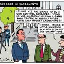 On Leland Yee's corruption charges making other legislators feel like slackers...