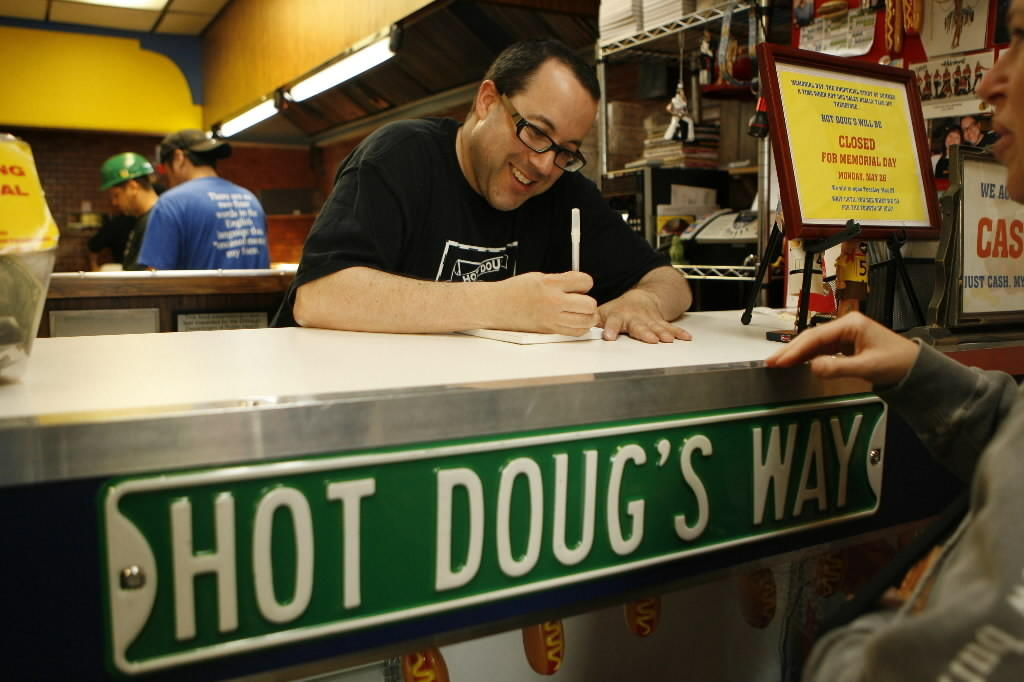 Hot Doug's owner Doug Sohn