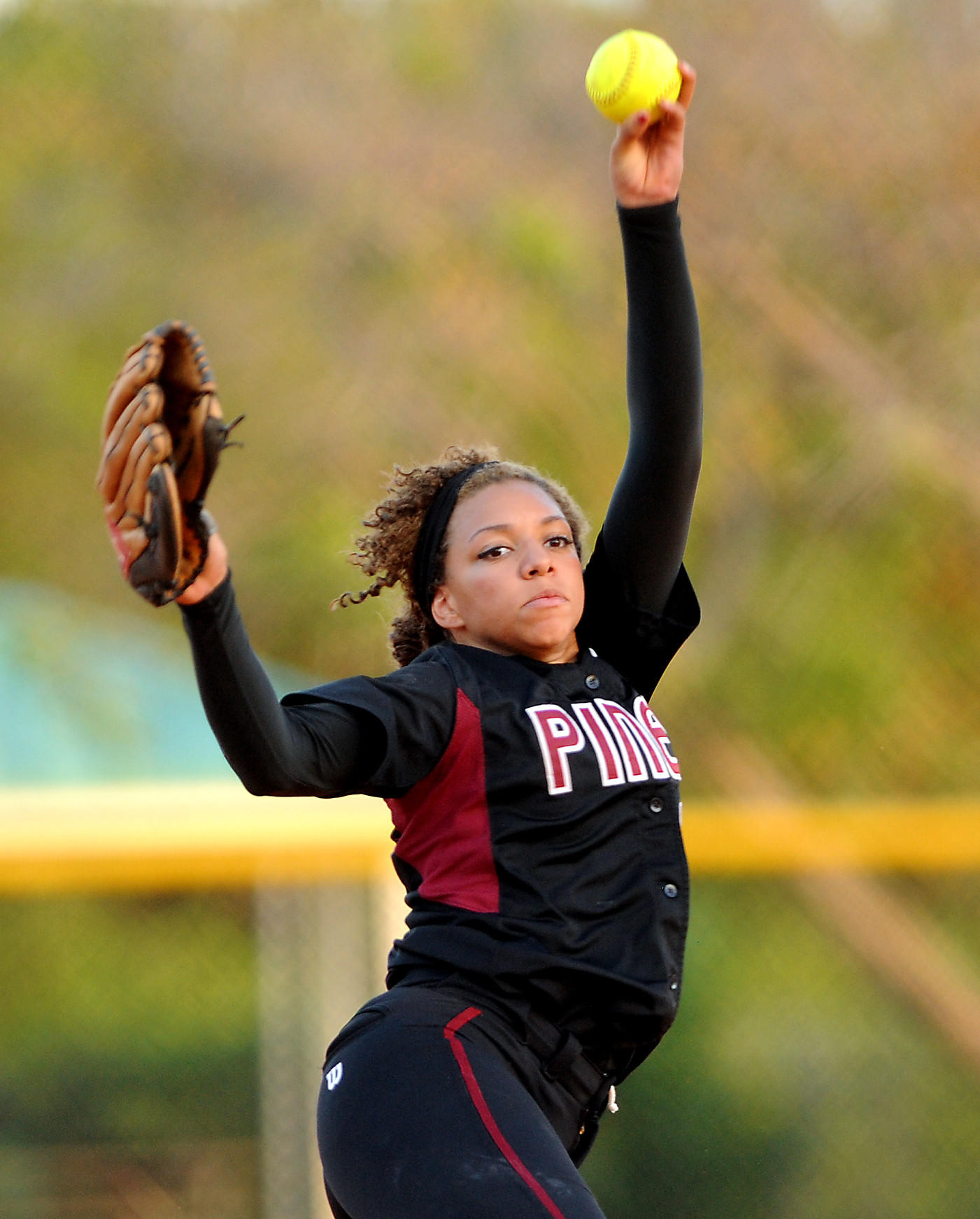 Pembroke Pines Charter pitcher Claire Blount will lead her state to the state semifinals Wednesday to face Creekside.