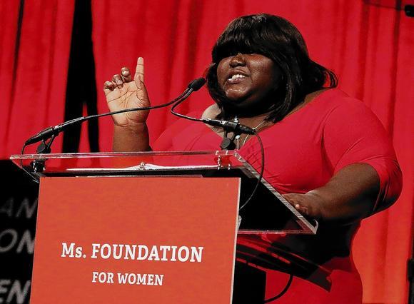 Sidibe at Ms. event