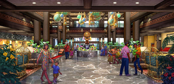 One of the first hotels at Walt Disney World Resort is getting a new name, which is actually its original name. Disney's Polynesian Resort is becoming Disney's Polynesia Village Resort. Renovations will continue into 2015.