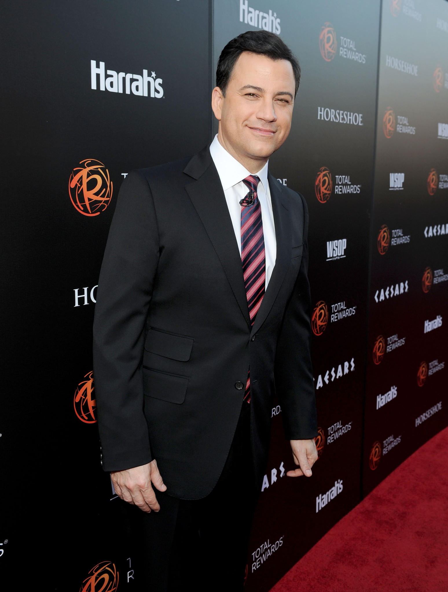 Jimmy Kimmel attends Escape to Total Rewards at Hollywood & Highland Center in Hollywood, California.