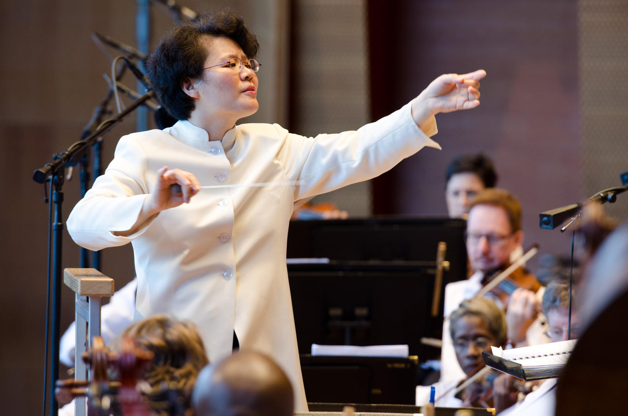 Chicago Sinfoniietta music director Mei-Ann Chen.