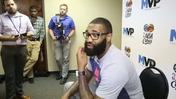 Magic's Kyle O'Quinn shaves beard