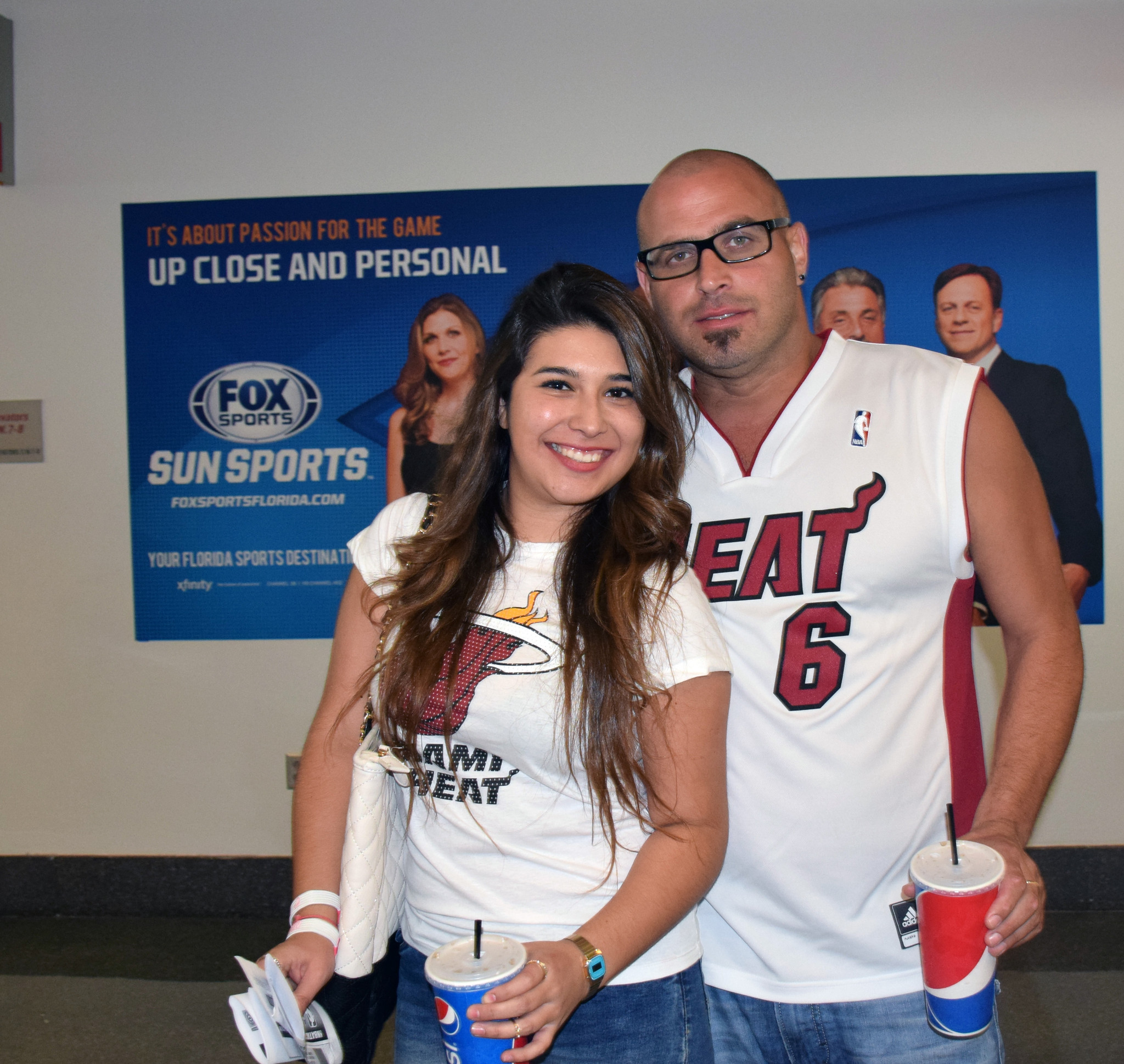 Pictures: Miami Heat fans at NBA Playoffs Round 2 - White Hot Heat Fans