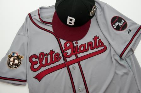 The Orioles will wear this throwback jersey of the Negro League Baltimore Elite Giants on May 30 in Houston.