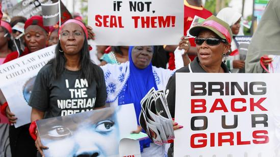 Protest in Nigeria