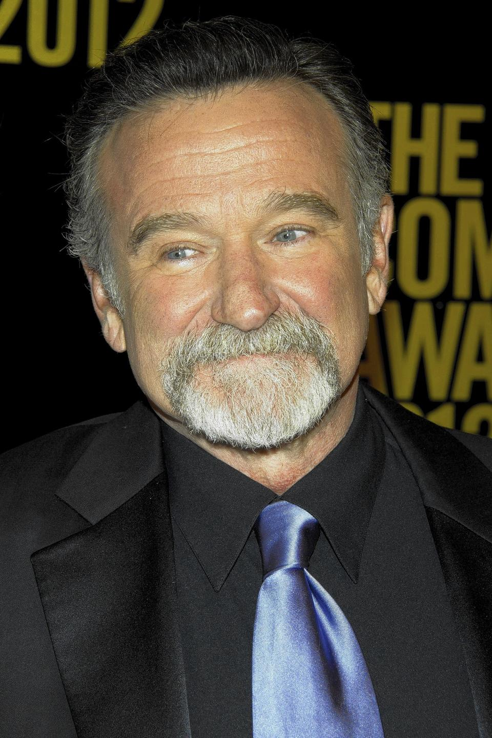 Robin Williams appears onstage at the 2012 Comedy Awards in New York.