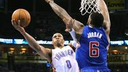 Thunder gets aggressive to even series with Clippers
